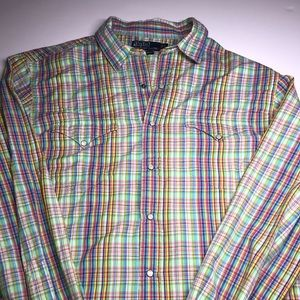 Ralph Lauren polo RL Western multi color country